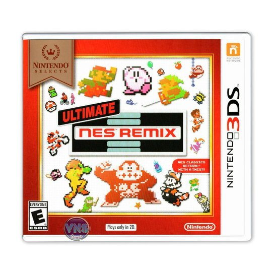 Ultimate NES Remix - 3DS - Incolor