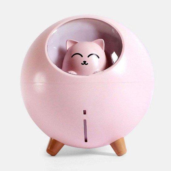 Umidificador de Ar Gatinho Mini Ser - Rosa