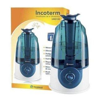 Umidificador De Ar Ultrassônico Azul Umd100 Bivolt  Incoterm