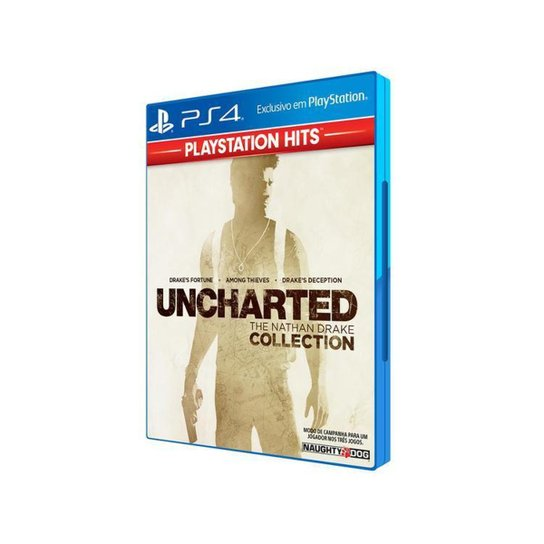 Uncharted: The Nathan Drake Collection para PS4 - Incolor