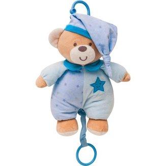 Ursinho Musical Estrelinha Azul Buba Baby