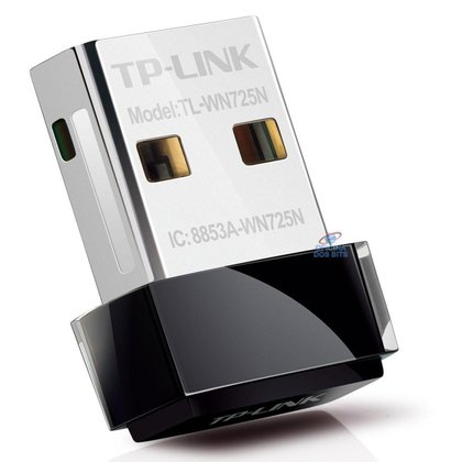 USB Adaptador Wi-Fi TP-Link TL-WN725N Nano - 150Mbps
