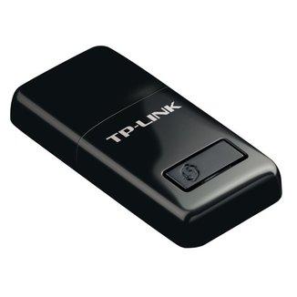 USB Adaptador Wi-Fi TP-Link TL-WN823N - 300Mbps - Modo Soft AP - Botão Wi-Fi Protected Setup™ (WPS)