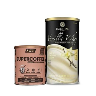 Vanilla Whey 450G E Supercoffee 220g 2.0