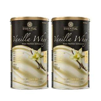 Vanilla Whey 450G Essential Nutrition 2 50% Off na Segunda Unidade