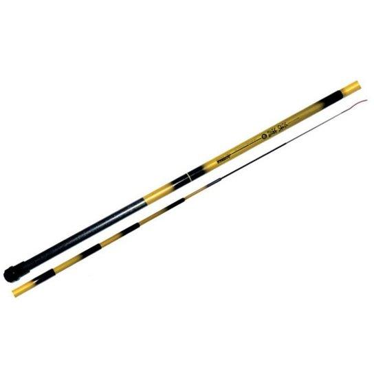 Vara Telescopica Bamboo 4,50m 9 gomos - Amarelo