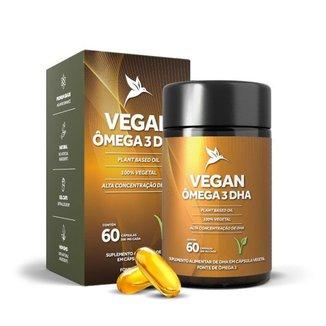Vegan Ômega 3 DHA Puravida 60 Cápsulas