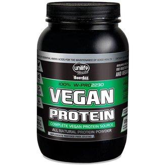 Vegan Protein 900g Proteína vegetal Unilife Morango