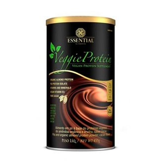 Vegan Protein Veggie Cacao 455g - Essential Nutrition