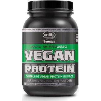 Vegan Protein W-Pro Sabor Morango 900g Unilife Vitamins