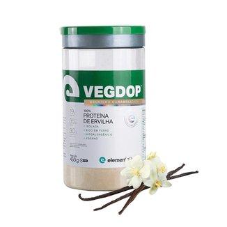 Vegdop Proteína De Ervilha ElementoPuro 450g Baunilha Caramelizada