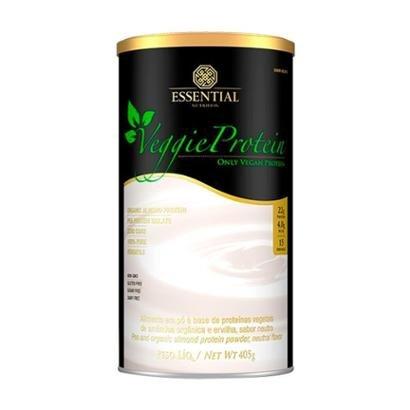 Veggie Protein Neutro 405g - Essential Nutrition - Unissex