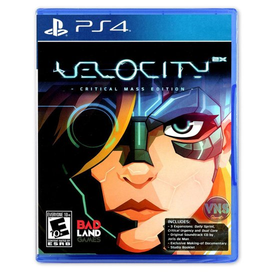 Velocity 2X - Critical Mass Edition - Ps4 - Incolor