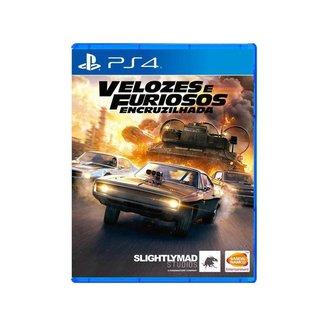 Velozes e Furiosos: Encruzilhada para PS4