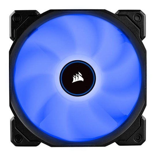 Ventoinha Corsair AF120 LED Azul 2018, CO-9050081-WW - Azul