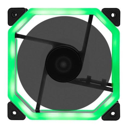 Ventoinha Mancer 120mm Ventus Led Verde, MCR-VTG-01 - Verde