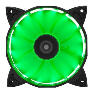 Ventoinha Mancer 120mm Z100 Led Verde, MCR-Z10G-01
