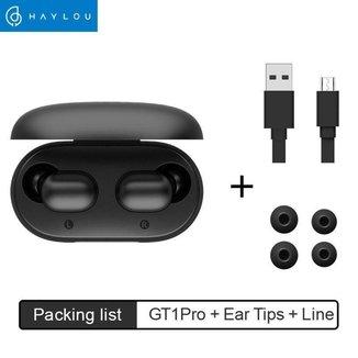 Verdadeiro Fone de Ouvido com Microfone Bluetooth Haylou GT1 Pro