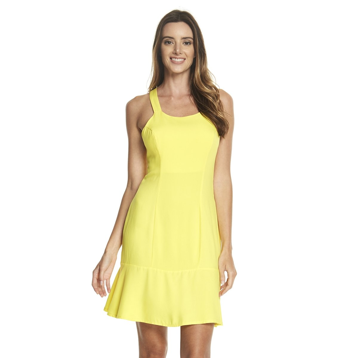 4a870ba61 Vestido Alça Larga Basic | Netshoes