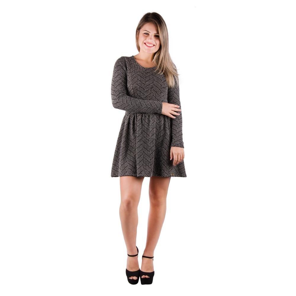 Vestido Banna Hanna Com Ziper Dentado - Compre Agora  5d6078bd309