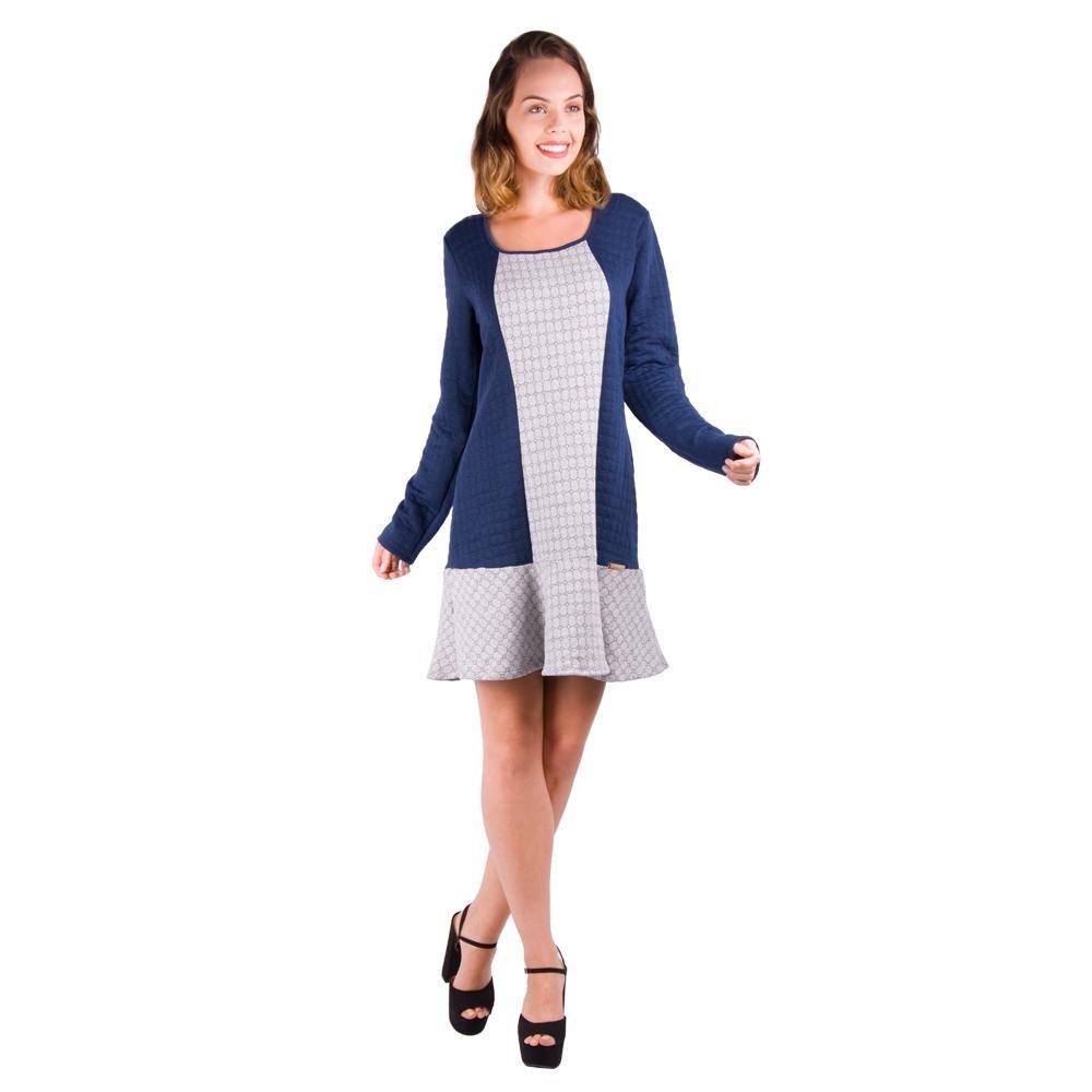 Vestido Banna Hanna Matelasse - Compre Agora  a714604d20c