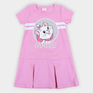 Vestido Bebê Disney Gatinha Marie