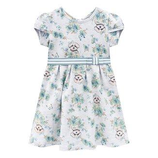 Vestido Bebê Milon Cotton Floral c/ Laço Feminino
