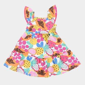 Vestido Bebê Nanai Frutas