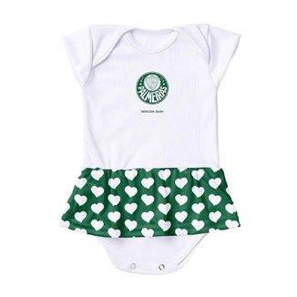 Vestido Body Torcida Baby Palmeiras 033 BXS Infantil