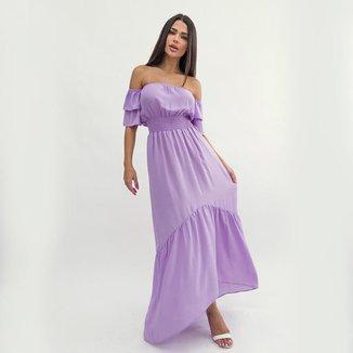 Vestido Cigana Longo Grace Lavanda LA LIMA