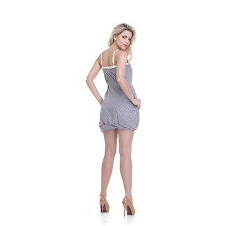 Vestido Clara Arruda Barra Prega 50012