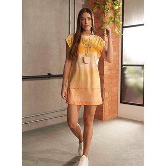 Vestido Colcci Fitness Estampado 0445700240 - Amarelo - P