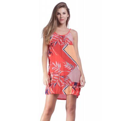 Vestido Curto Amazonia Vital com Bolso Feminino