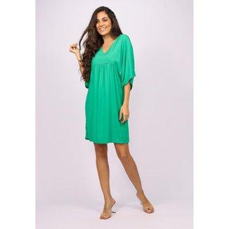Vestido Curto Bata Verde Light - GG - Veste do 46 ao 48