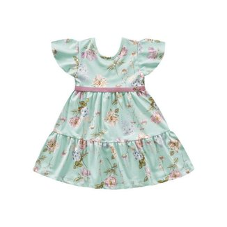 Vestido Estampado - Playground - Lukas Kids Moda Infantil