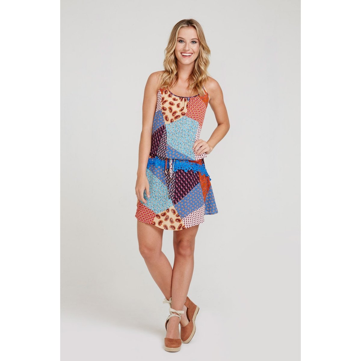 0d55431be Vestido frente única estampado | Netshoes