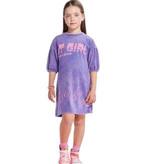 Vestido Infantil Animê Roco Estonado N1605