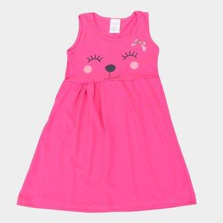 Vestido Infantil Candy Kids Estampado Sem Mangas Feminino