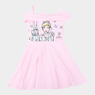 Vestido Infantil Disney Princesa Cinderela
