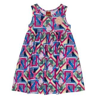 Vestido Infantil Kyly Jacquard 137755.40064.4 Kyly