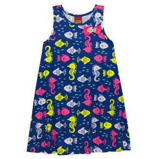 Vestido Infantil Kyly Meia Malha 137521.6832.2 Kyly