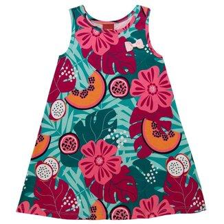 Vestido Infantil Kyly Meia Malha 137523.9010.6 Kyly