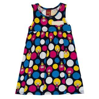 Vestido Infantil Kyly Meia Malha 137557.6826.3 Kyly