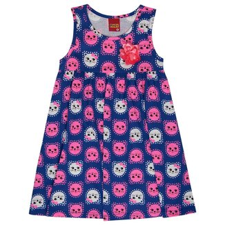 Vestido Infantil Kyly Meia Malha 137741.6832.1 Kyly