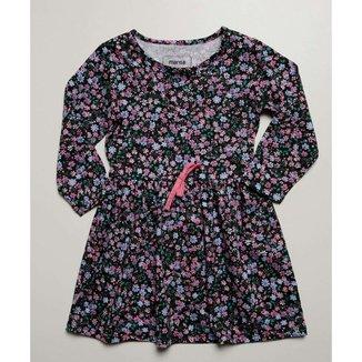 Vestido Infantil Manga Loga Estampa Floral Marisa Tam 1 A 4 - 10046344625