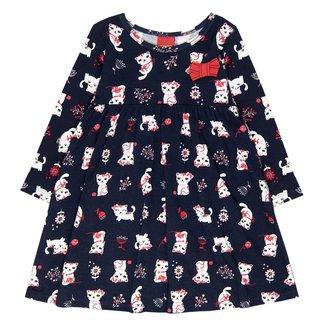 Vestido Infantil  Meia Malha  Kyly