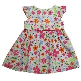 Vestido Infantil Menina Florido Feminino