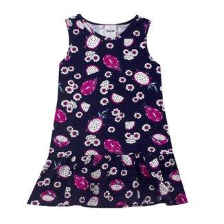 Vestido Infantil Menina Pitaia Rovitex Marinho