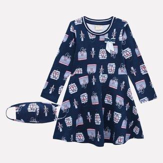 Vestido Infantil Milon Cotton 12961.0484.6 Milon