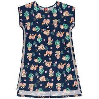 Vestido Infantil Mullet Estampado Bee Loop